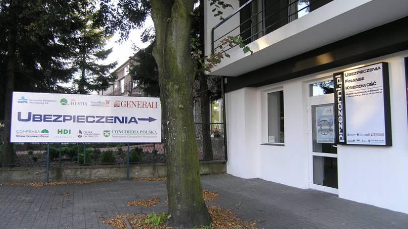 Ubezpieczenia w Kiedrzynie
